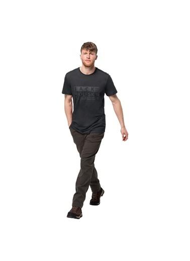 Jack Wolfskin Tişört Siyah